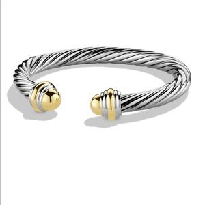 David Yurman 7mm cable classic bracelet
